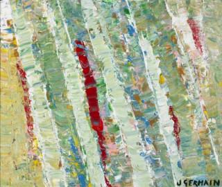 Jacques Germain, tableau, composition