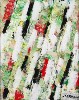 Jacques Germain, composition, tableau