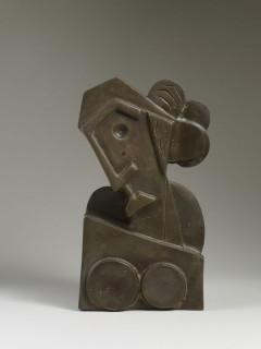 Jacques Henri Guyot, buste de femme, bronze