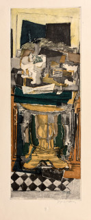 Jacques Villon,Nature morte, d'après Georges Braque,