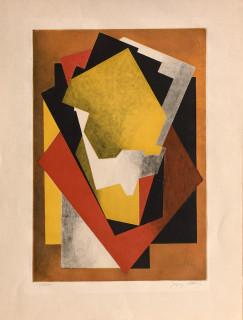 Jacques Villon, composition cubiste