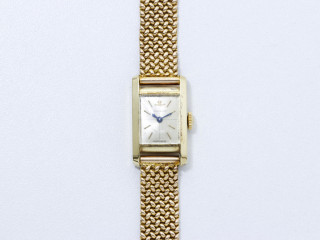 Jaeger Lecoultre, montre de dame or