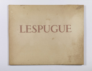 Jean Fautrier, Lespugue, Robert Ganzo