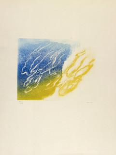 Jean Fautrier, L'orage, gravure