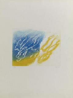 Jean Fautrier, l'Orage, estampe