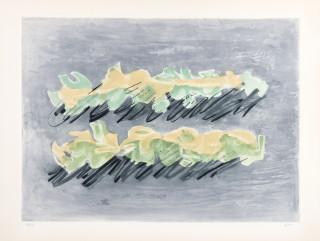 Jean Fautrier, le maquis, gravure