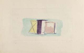 Jean Fautrier, Les Bobines, gravure