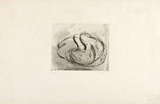 Jean Fautrier, Nu noir, gravure