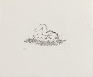 Jean Fautrier, petit nu L