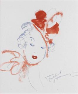 Jean Gabriel Domergue, dessins, vente aux enchères