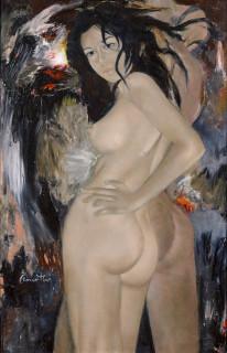 Jean Jacques Quentin, Grande impudique, tableau