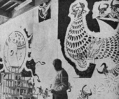 Jean Lurçat , un maître tapissier