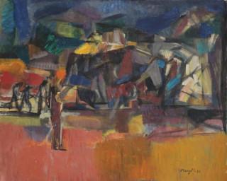 Jean Marzelle, tableau, paysage, vente aux enchères