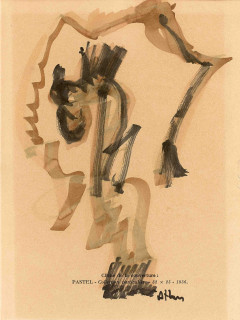 Jean Michel Atlan, composition, dessin