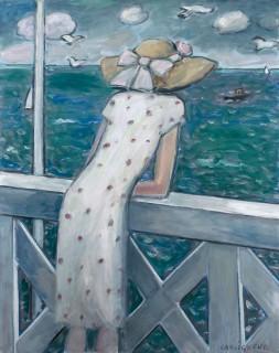 Jean Pierre Cassigneul, l'orage, tableau