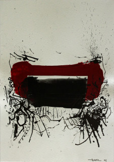 John Levee, Composition, technique mixte