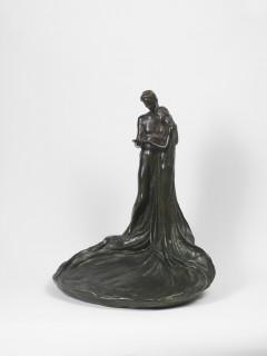 Emile Bernard, couple enlacé, bronze