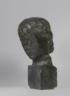Joseph Bernard, tête, bronze