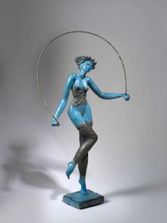 Josepha, saut à la corde, bronze