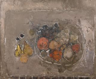 Junji Yamashita, les pommes rouges, tableau