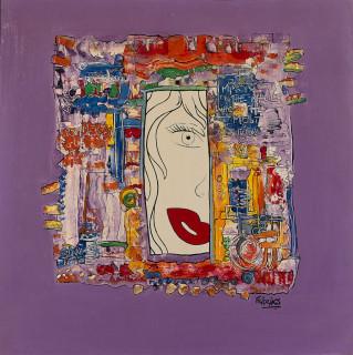 Katrin Fridriks, first Kiss, tableau, vente aux enchères