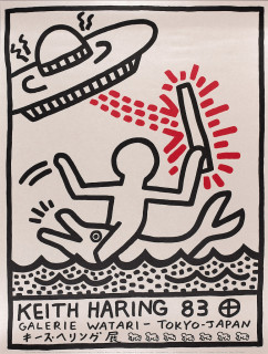 Keith Haring, lithographie