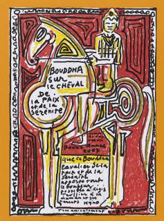 Ladislas Kijno, bouddha sur le cheval, vente aux enchères