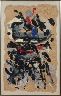 Ladislas Kijno, composition, papier froissé