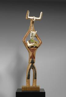 Jean Lambert Rucki, l'équilibriste, bronze