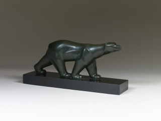 Georges Lavroff, ours polaire, bronze