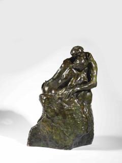 Auguste Rodin, le Baiser, troisième réduction