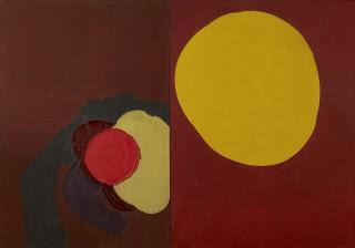 Luis Feito, Composition 1969, tableau