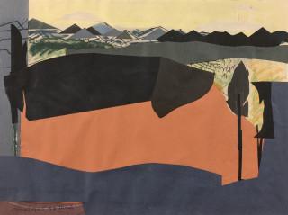 Max Papart, paysage, vente aux enchères