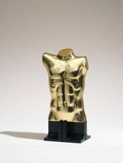 Miguel Berrocal, torse épigastrique, bronze