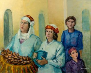 Moussa Bourdine, deux tableaux en vente aux enchères