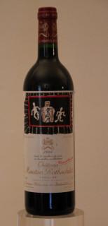 Mouton Rothschild, étiquette Karel Appel