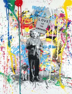 Mr Brainwash, Love is the answer