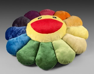 Takashi Murakami, flower cushion rainbow