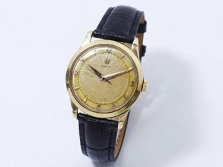 Omega, montre d'homme en or