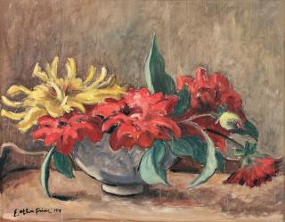Emile Othon Friesz, bouquet de fleurs, tableau