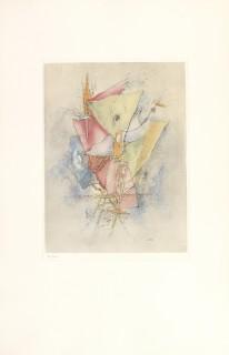 Otto Wols, des voiles déchirées, gravure