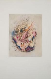 Otto Wols, la bête dans le ciel, gravure