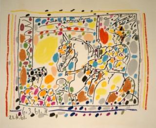 Pablo Picasso, Picador II, lithographie