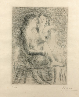 Pablo Picasso, 4 estampes, vente aux enchères