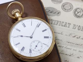 Patek Philippe, montre de poche en or