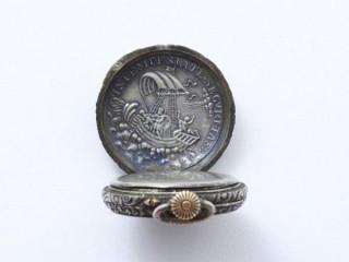 Patek Philippe, petite montre de poche argent 1883