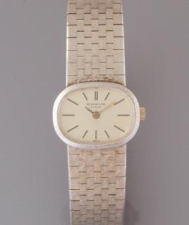 Patek Philippe, montre or gris