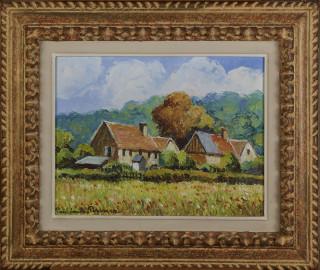 Paul Emile Pissarro, la Seruerie, tableau