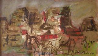 Orlando Pelayo, village, tableau