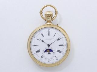 PICARD FRÈRES & F. RUSSER - CHAUX DE FONDS - Belle montre de poche en or